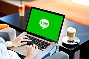 パソコンでLINEをログイン