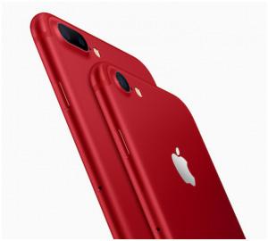 iPhone7 赤色
