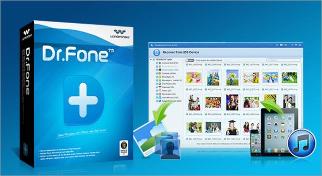 「dr.fone-iPhoneデータ復元」