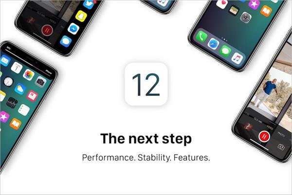iOS12バッテリー