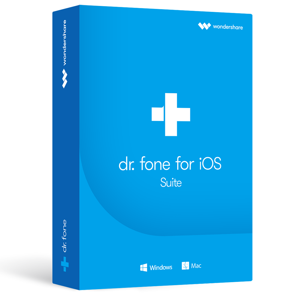 dr.fone for iOS Suite (Windows版)