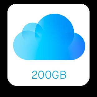iCloud200GB
