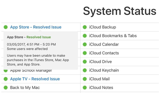 app store problem of ios 12