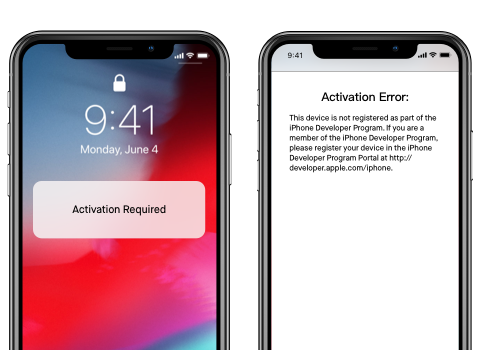 iOS 12/iOS 13 betaproblem- failed to activate